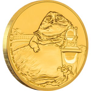 Star Wars Classic: Jabba the Hutt™ 1oz Gold Coin