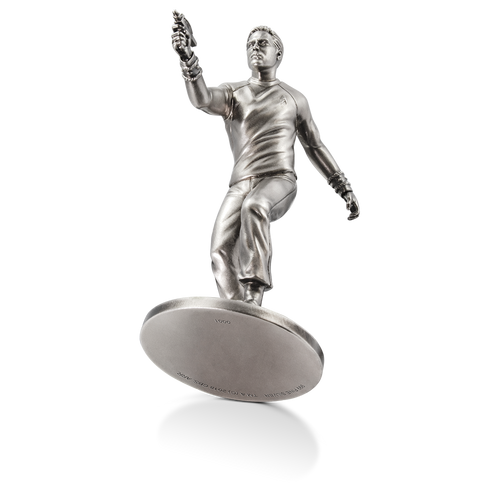 Star Trek - Captain James T. Kirk 150g Silver Miniature Base