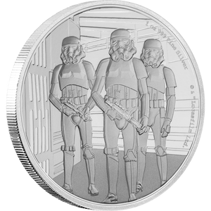 Star Wars Classic: Stormtrooper™ 1oz Silver Coin