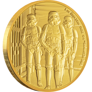 Star Wars Classic: Stormtrooper™ 1oz Gold Coin