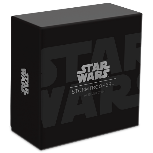 Star Wars: Stormtrooper™ Ultra High Relief 2oz Silver Coin Box