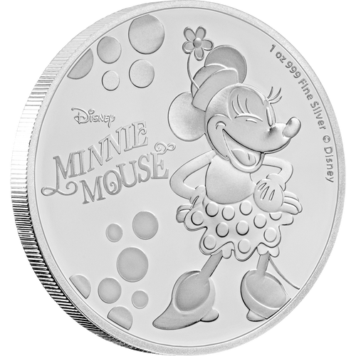 Disney: Minnie Mouse - 1oz Silver Coin