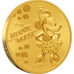 Disney: Minnie Mouse - 1/4 oz Gold Coin