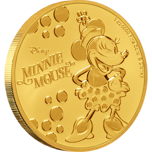 Disney: Minnie Mouse - 1oz Gold Coin