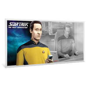 Star Trek: The Next Generation - Data 5g Pure Silver Coin Note
