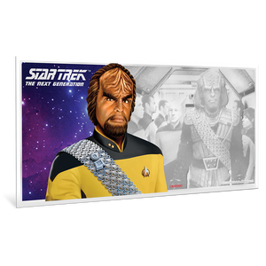 Star Trek: The Next Generation - Worf - 5g Silver Coin Note