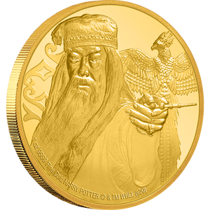 Albus Dumbledore 1oz Gold Coin NZ Mint