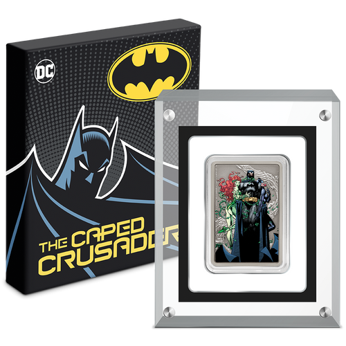 THE CAPED CRUSADER™ - VIXENS 1oz Silver Coin Packaging