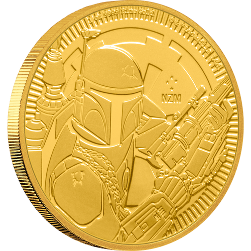 1oz Gold Bullion Coin Star Wars featuring Boba Fett™ 2020