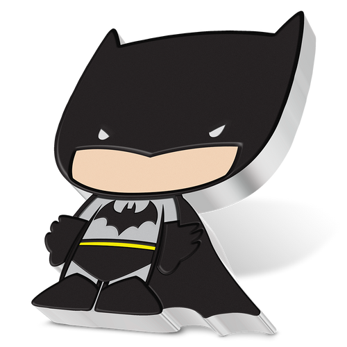 SOLD OUT! Chibi Coin Collection DC Comics Series – BATMAN™ 1oz Silver Coin Angled