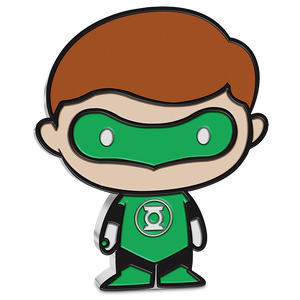 Chibi™ Coin Collection DC Comics Series – GREEN LANTERN™ 1oz Silver Coin NZ Mint