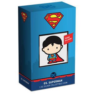 SOLD OUT! Chibi™ Coin Collection DC Comics Series – SUPERMAN™ 1oz Silver Coin