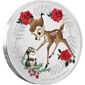 Disney Season's Greetings 2020 1oz Silver Coin NZ Mint