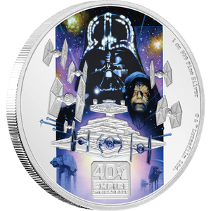 40th Anniversary of Star Wars: The Empire Strikes Back™ 1oz Silver Front | NZ Mint