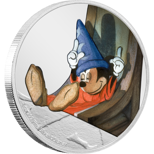 Disney Fantasia 80th Anniversary - The Dozing Sorcerer's Apprentice 1oz Silver Coin | NZ Mint