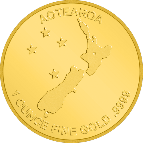 1oz Gold Kiwi Bullion Coin Fine Gold .9999  | NZ Mint