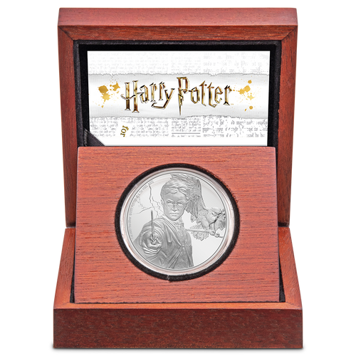 HARRY POTTER™ - Harry Potter™ 1oz Silver Coin Innner Display