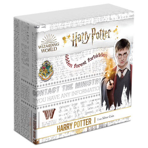 HARRY POTTER™ - Harry Potter™ 1oz Silver Coin Box