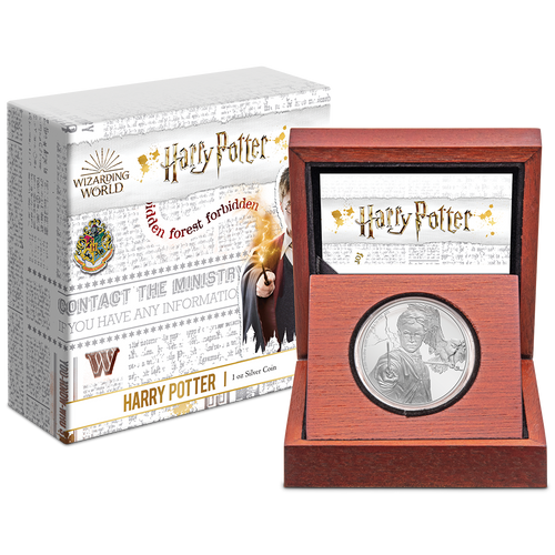 HARRY POTTER™ - Harry Potter™ 1oz Silver Coin Packaging