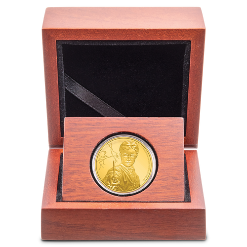 HARRY POTTER™ - Harry Potter™ 1/4oz Gold Coin Inner Box View