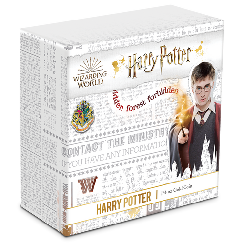 HARRY POTTER™ - Harry Potter™ 1/4oz Gold Coin Box