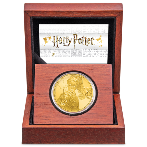 HARRY POTTER™ - Harry Potter™ 1oz Gold Coin Inner Packaging