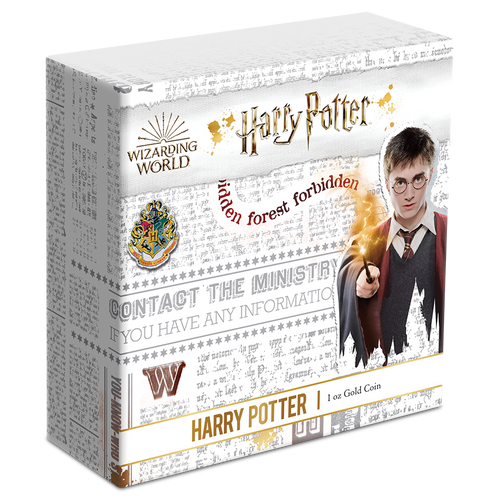 HARRY POTTER™ - Harry Potter™ 1oz Gold Coin Box