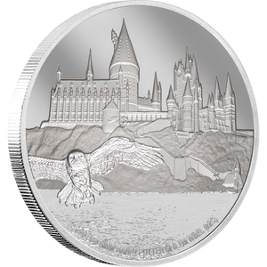 HARRY POTTER™ - Hogwarts Castle 1oz Silver Coin