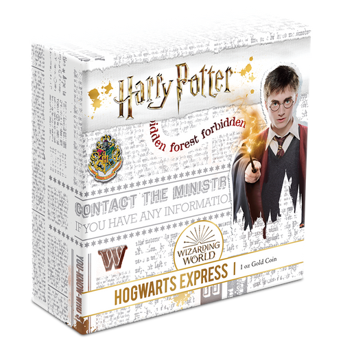 HARRY POTTER™ - Hogwarts™ Express 1 Gold Coin Box
