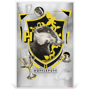 HARRY POTTER™ - Hogwarts House Banners - Hufflepuff 5g Silver Coin Note