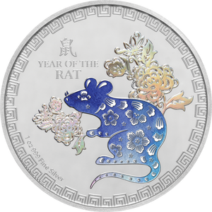 Lunar - Year of the Rat 1oz Silver Coin