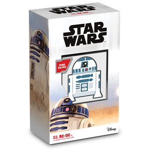 SOLD OUT! Chibi™ Coin Collection Star Wars™ Series – R2-D2™ 1oz Silver Coin