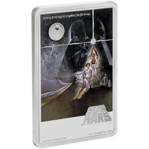 Star Wars: A New Hope Poster 1oz Silver Coin