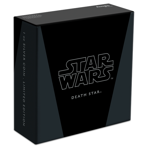 Star Wars™: Death Star™ 1oz Silver Coin Box
