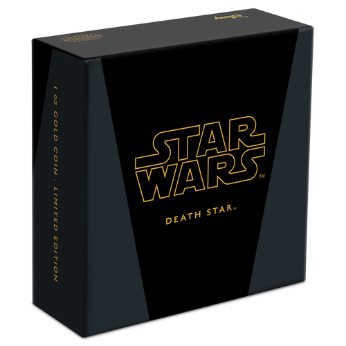 Star Wars™: Death Star™ 1oz Gold Coin Box
