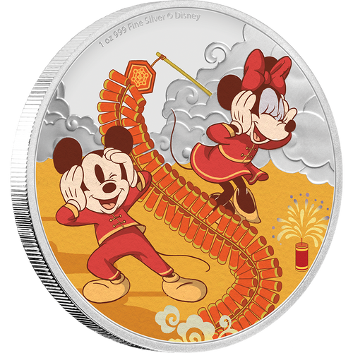 Disney 2020 Year of the Mouse – Prosperity 1oz Silver Coin