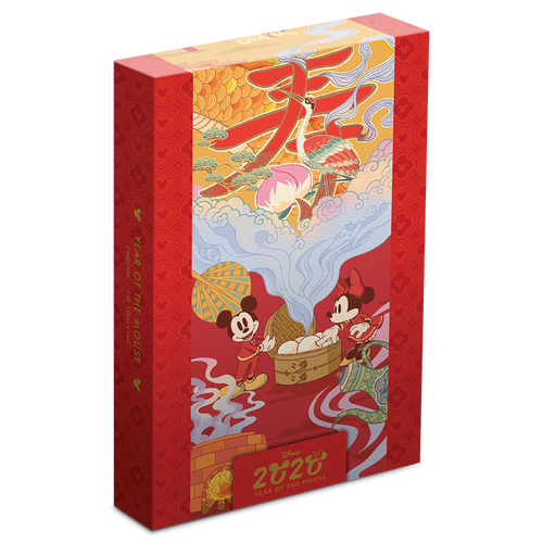 Disney 2020 Year of the Mouse – Longevity Box with Scroll