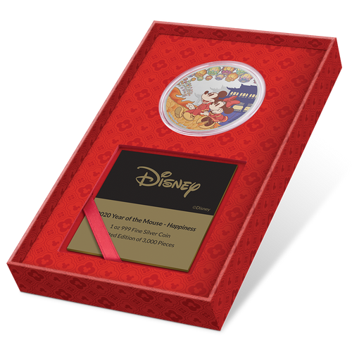 Disney 2020 Year of the Mouse – Happiness with Certificate of Authenticity