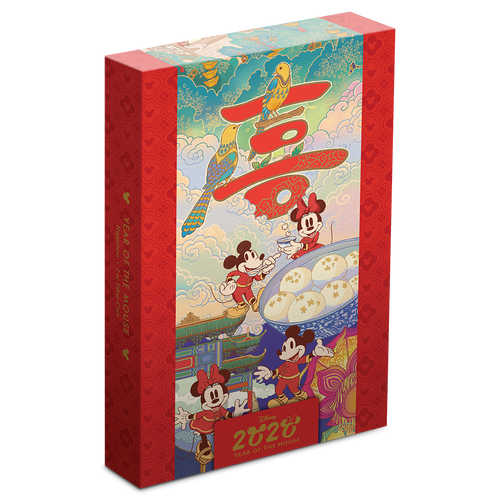 Disney 2020 Year of the Mouse – Happiness Packaging Featuring Scroll Image