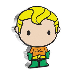 Chibi™ Coin Collection DC Comics Series – AQUAMAN™ 1oz Silver Coin | NZ Mint