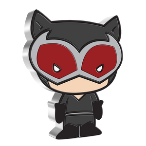 Chibi™ Coin Collection DC Comics Series – CATWOMAN™ 1oz Silver Coin | NZ Mint