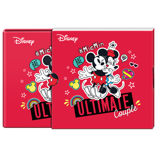 Disney Love 2021 – Ultimate Couple 1oz Silver Coin Booklet Display