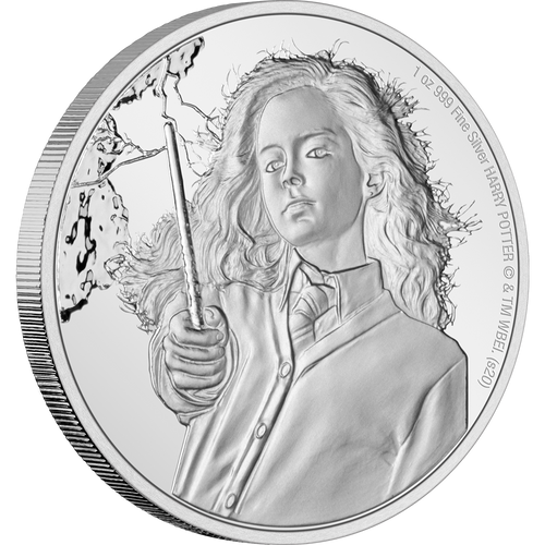 HARRY POTTER™ Classic - Hermione Granger™ 1oz Silver Coin NZ Mint