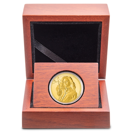 HARRY POTTER™ Classic - Hermione Granger™ ¼oz Gold Coin Display Box