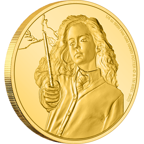 HARRY POTTER™ Classic - Hermione Granger™ ¼oz Gold Coin NZ Mint