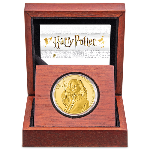 HARRY POTTER™ Classic - Hermione Granger™ 1oz Gold Coin