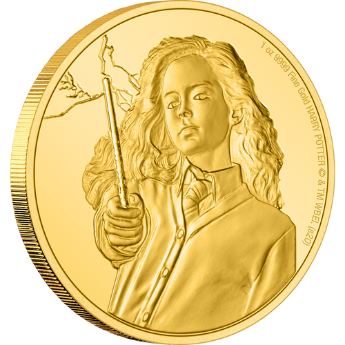 HARRY POTTER™ Classic - Hermione Granger™ 1oz Gold Coin NZ Mint