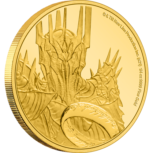 THE LORD OF THE RINGS™ - Sauron 1/4oz Gold Coin
