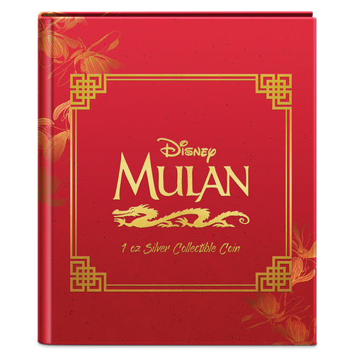 Disney - Mulan 1oz Silver Coin Booklet