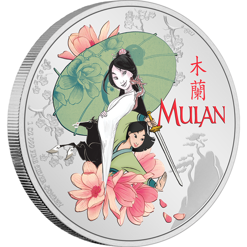 Disney - Mulan 1oz Silver Coin | NZ Mint